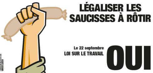 Oui à la révision partielle de la loi sur le travail! Voir www.loi-sur-le-travail-oui.ch