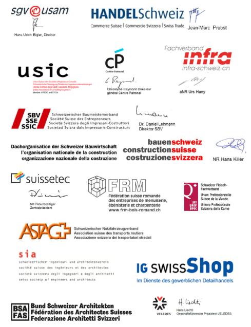 Rund 100 Verbände und Unternehmen fordern in einem gemeinsamen Brief den Nationalrat auf, nicht auf die KMU-feindliche Revision des Kartellgesetzes einzutreten
