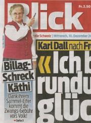 Billag-Schreck Käthi und Kari Arnold