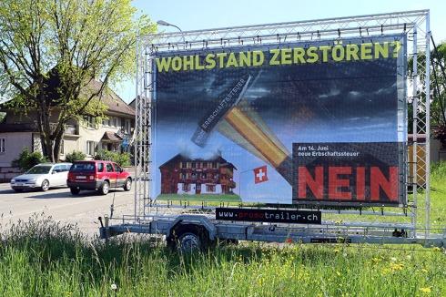 Familienfeindlich und KMU-feindlich: Am 14. Juni Nein zur brandgefährlichen Erbschaftssteuer-Initiative!