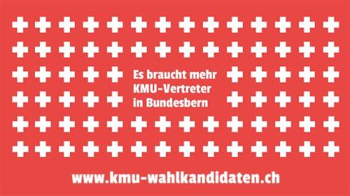 Es braucht mehr KMU-Vertreter in Bundesbern: Darum am 18.10.2015 KMU-geprüft wählen! - www.kmu-wahlkandidaten.ch