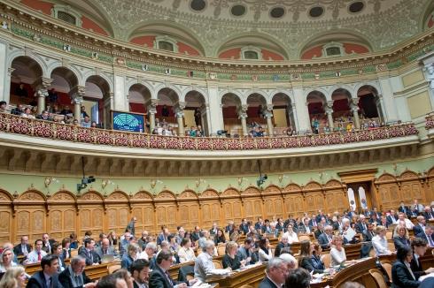 Die vorberatende Kommission des Nationalrats (WAK-N) hat den faulen Kompromissvorschlag der Schwesterkommission aus dem Ständerat abgelehnt. «Parlamentsdienste 3003 Bern»