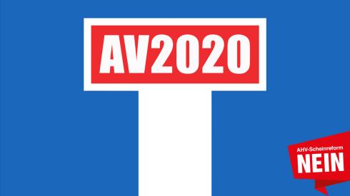 NEIN zur ungerechten AHV-Scheinreform, welche in die Sackgasse führt!