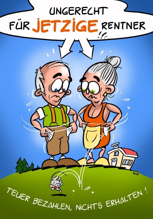 Teuer bezahlen, nichts erhalten: Die AHV-Scheinreform ist ungerecht für jetztige Rentner!